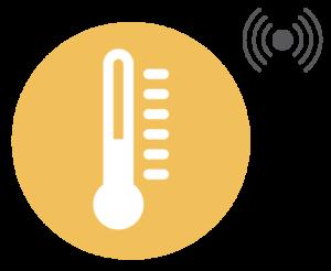 Blautic sensor de temperatura