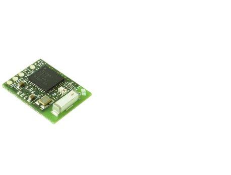 Plataforma Blautic A0-M ultra bajo consumo, movilidad total de los equipos y versatilidad en la conexión de sensores de bajo voltaje, anverso